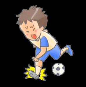 スポーツ障害のイラスト